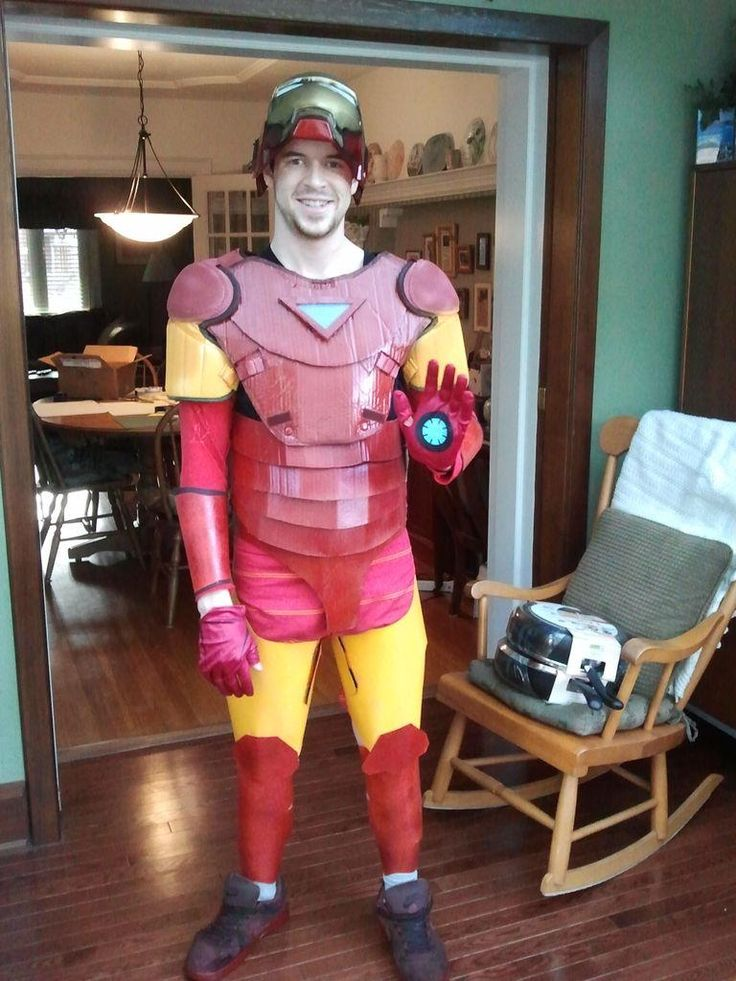 diy tutorial diy men halloween costumes diy iron man costume bead - Home Made Halloween Costumes For Men