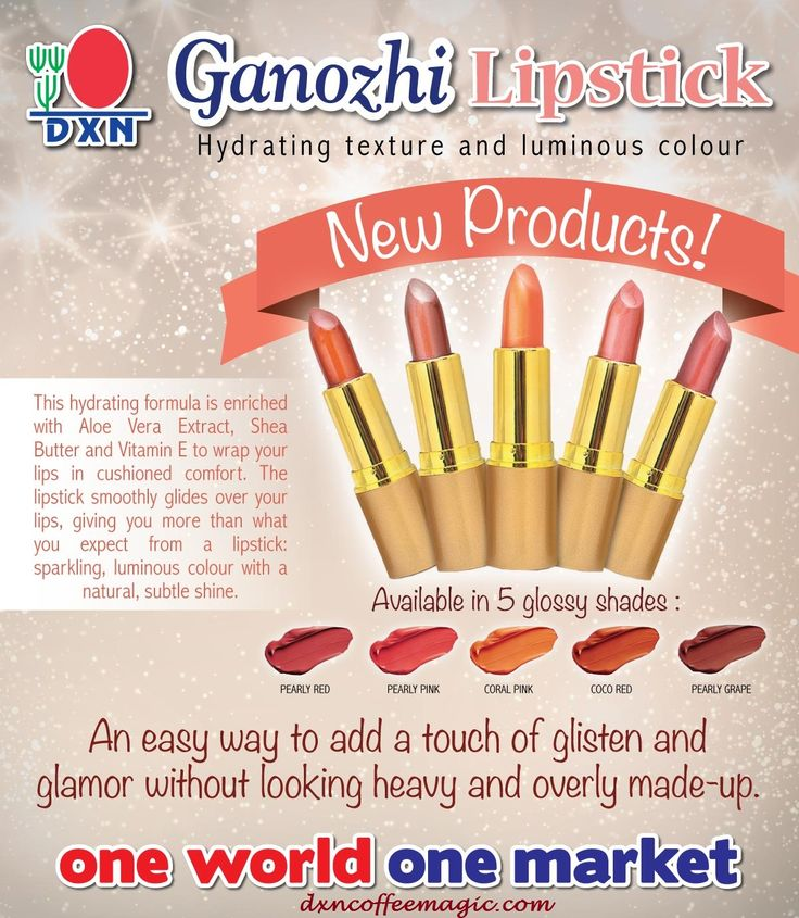 Ladies, which DXN Ganozhi Lipstick lasts the longest during kissing? :)