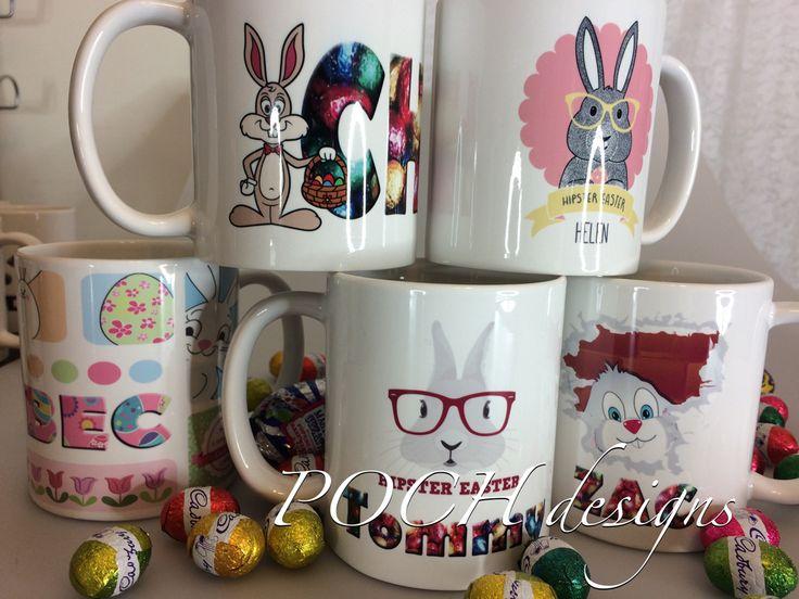 Easter mugs