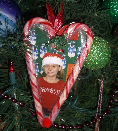 Holiday project: easy candy cane heart ornament - San Francisco Early Childhood Parenting | Examiner.com