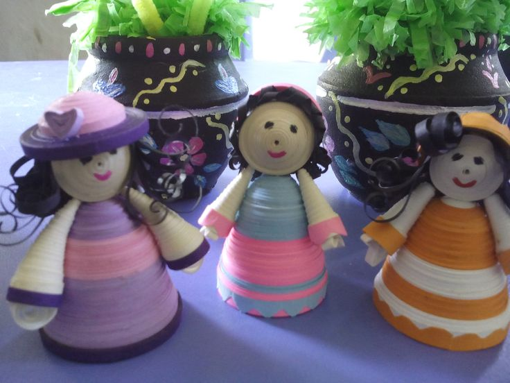 These cute little dolls can be used as key chains and also for show case .