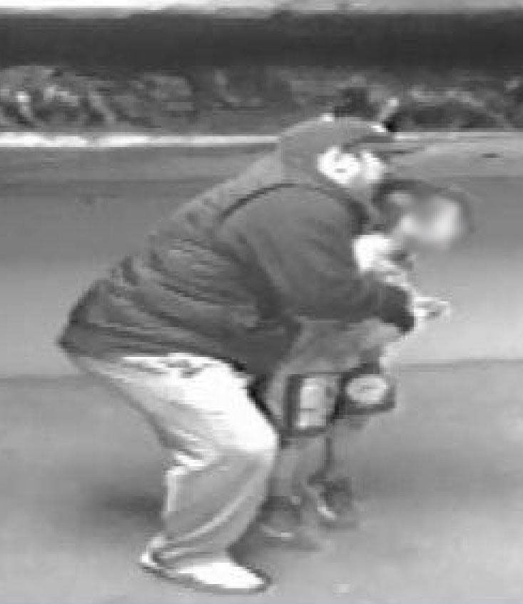 Oklahoma police are looking for a man shown on surveillance footage trying to abductan 8-year-old boy from a school wrestling competition, police say.  Oklahoma City Police said in a statement that they received a call of an attempted child abduction at the State Fairgrounds on Friday.