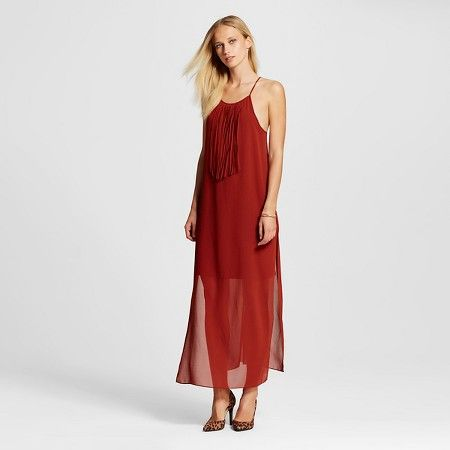 Women's Tank Dress with Fringe - Mossimo : Target