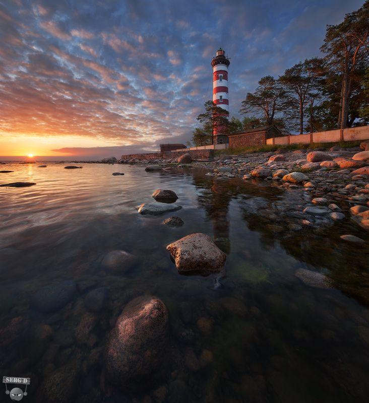 Шепелевский маяк, Финский залив