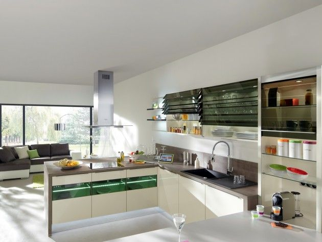 11 best Cuisine en bois images on Pinterest Kitchen modern, Wooden