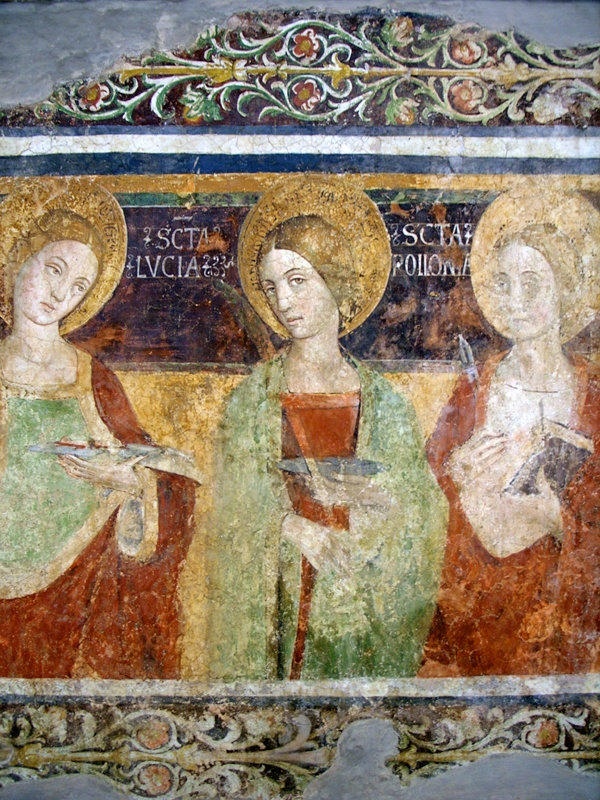 Fresco in the National Gallery