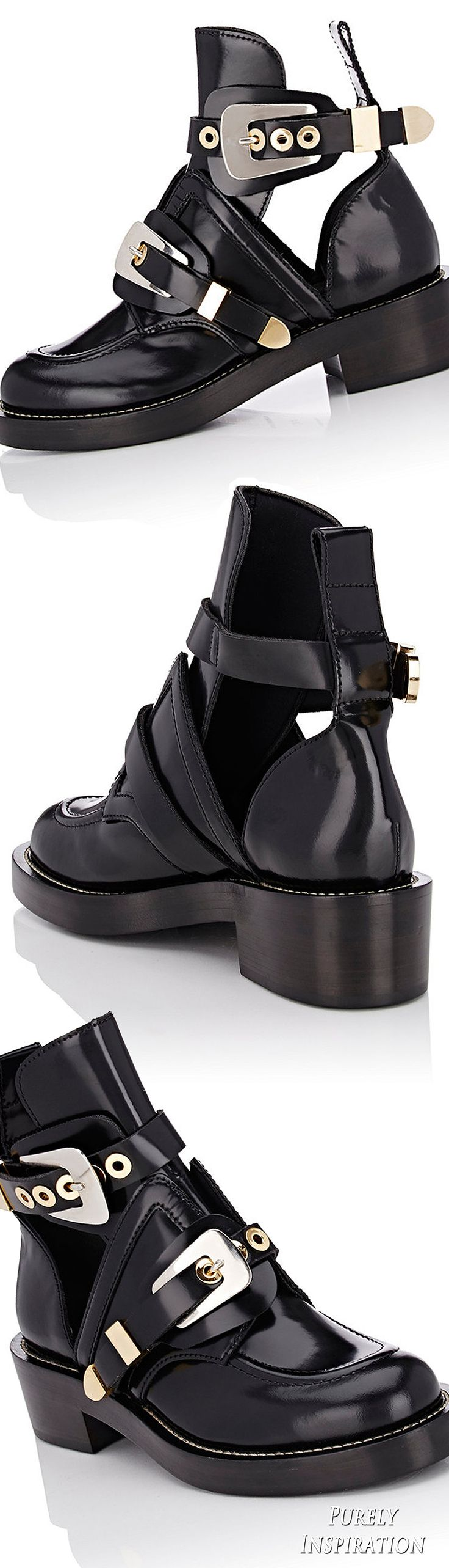 Balenciaga Ceinture Ankle Boots | Purely Inspiration