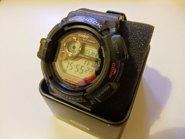 www.andrewmarksmith.co.uk: Casio G-SHOCK Mudman Watch Review