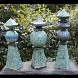 Stehle Maritim 322 besten ceramic garden totems bilder auf keramik