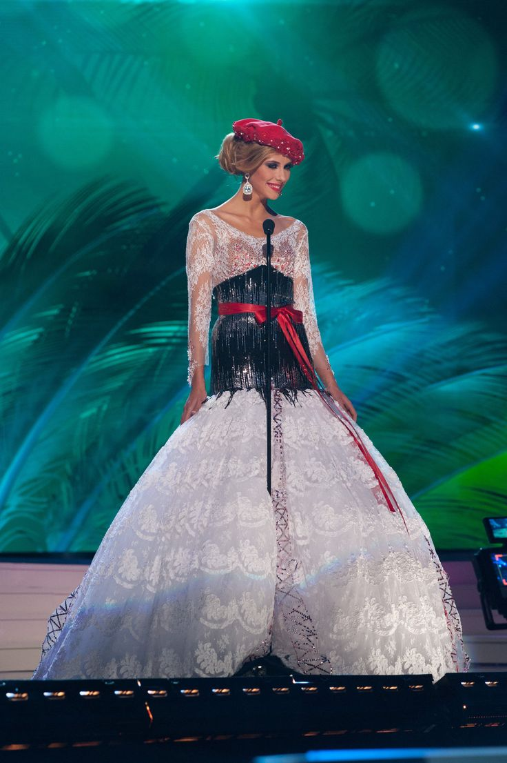 France - National Costume Inspired By The Miss Universe 2015 Pageant