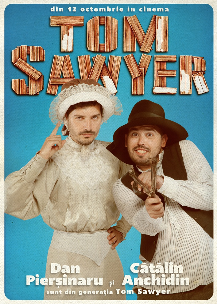 Dan Pierșinaru & Cătălin Anchidin sunt din Generația Tom Sawyer!