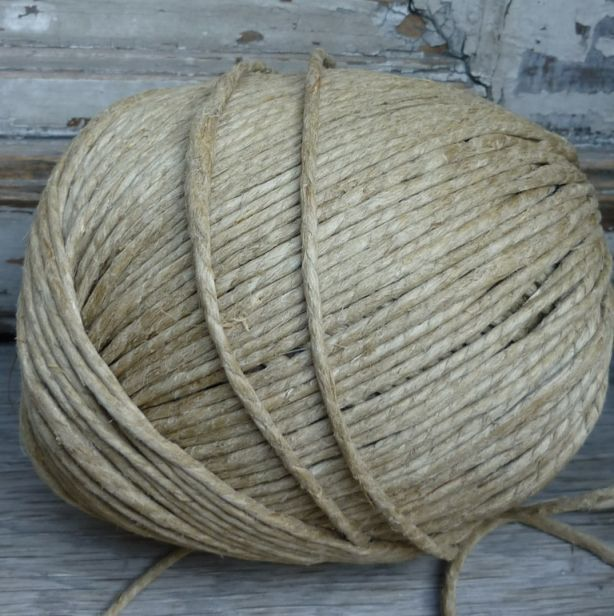 Chunky hemp string. Made in Hungary our hemp strings and twines are a lovely and rustic with a slighty uneven quality