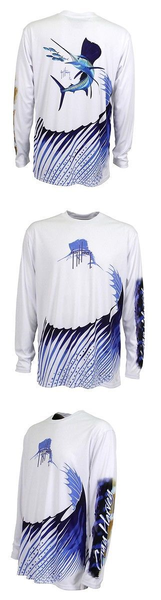 Shirts and Tops 179982: Guy Harvey Mens Sailfish Performance Shirt -> BUY IT NOW ONLY: $39.65 on eBay!
