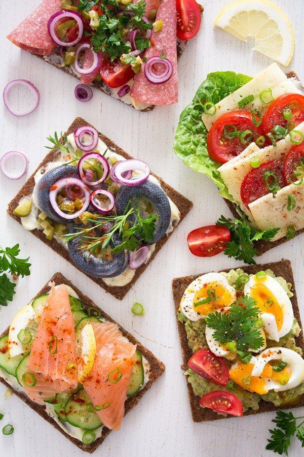 Recipe Open Faced Sandwiches