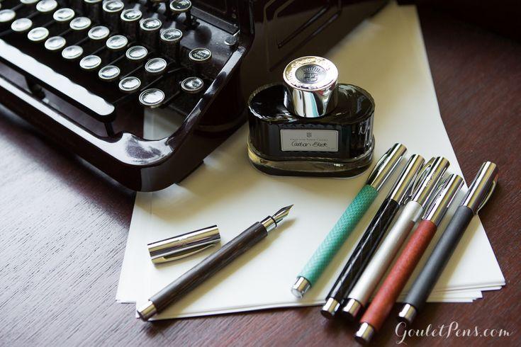 Fountain Pens | Faber-Castell Ambition - Aqua Op Art | GouletPens.com