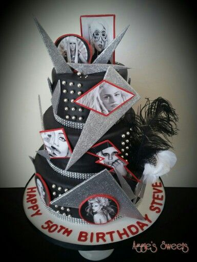 Lady Gaga Birthday Cake
