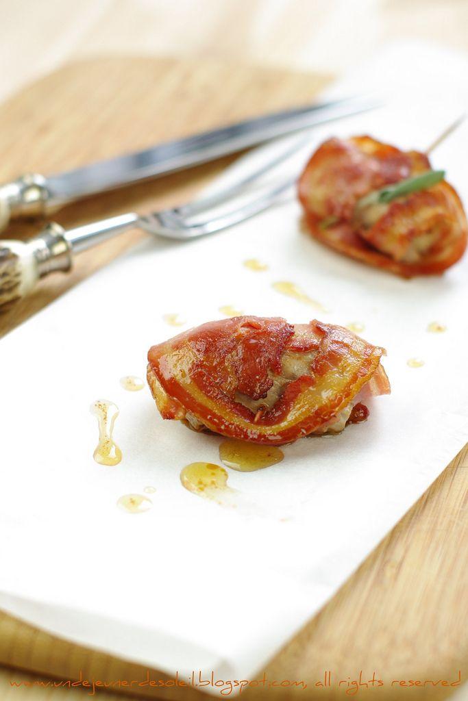 Involtini di vitello con provolone piccante e pancetta@n&n- sounds even more fabulous in Italian