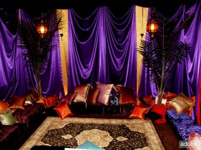 """Zohar Productions, """"The Genie of Special Events,"""" specializes in Arabian Nights and Moroccan themed parties. Description from new-york-5752-33.babylady.biz. I searched for this on bing.com/images"""