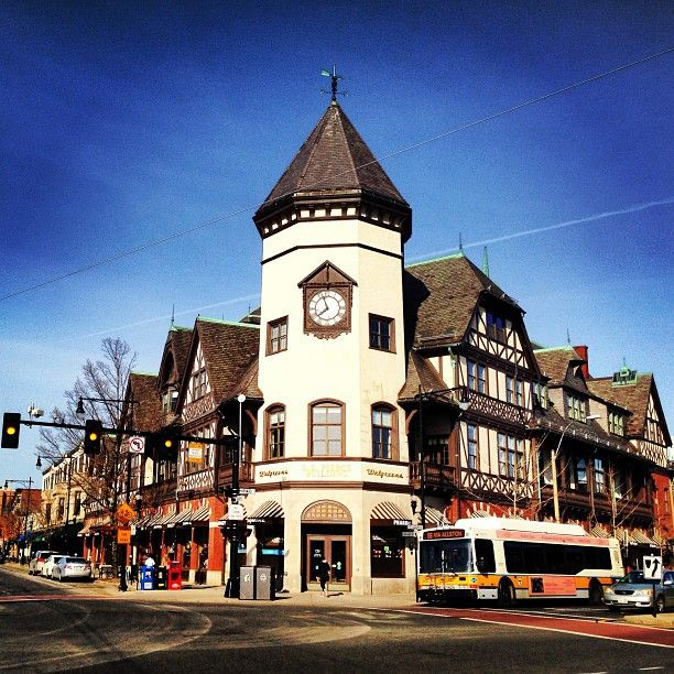 Coolidge Corner in Brookline, MA