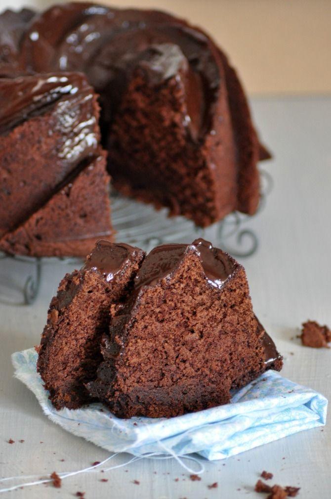 Receta de Bundt cake de chocolate de Martha Stewart