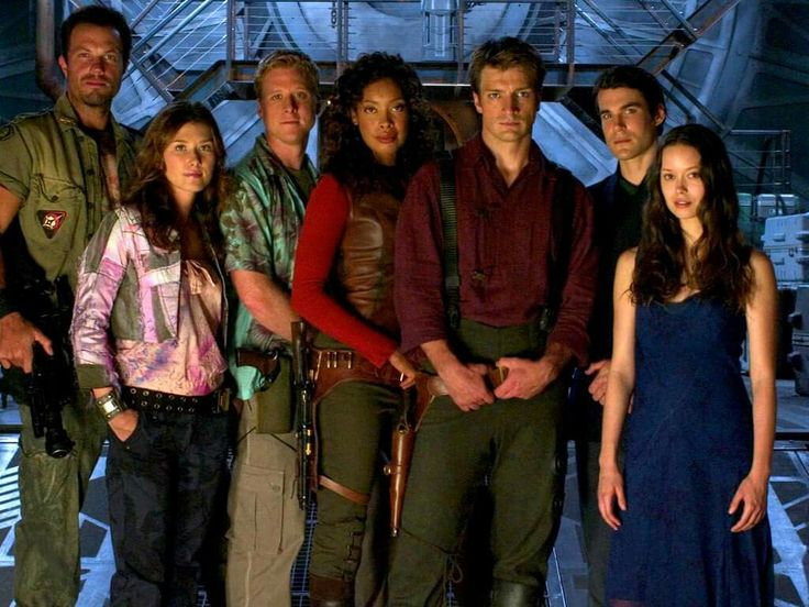 Firefly, Serenity cast My favorite TV and Movie cast.