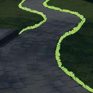 120 GLOW IN THE DARK PEBBLES Stones Luminous Illuminous Garden Outdoor Fish Tank | eBay