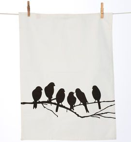 Lovebirds Tea Towel 80 kr