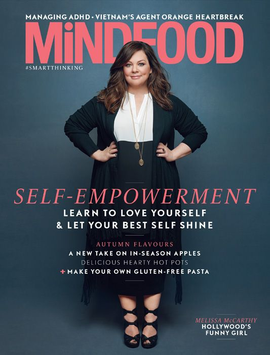 """""""Learn to love yourself & Let your best self shine"""" That's the theme of our special June, self-empowerment, edition with comedy queen, actress Melissa McCarthy on the cover!! What do you think?"""