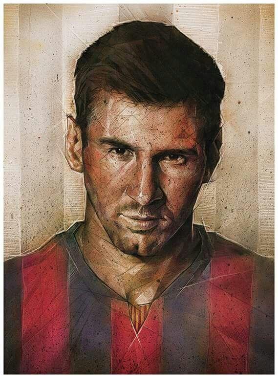 Lionel Messi por Dave Merrel Artwork (artista)