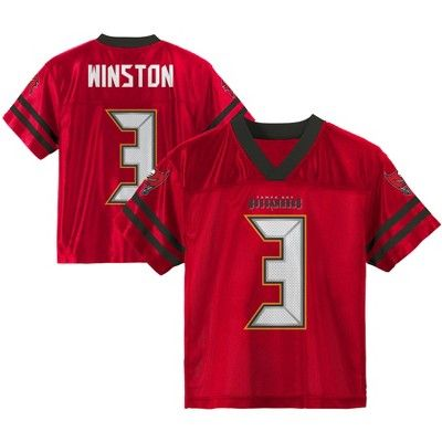 766952a4 Tampa Bay Buccaneers Boys' Player Jersey XS #Buccaneers, #Bay ...