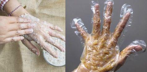 Domácí procedura proti suchým a ošklivým rukám