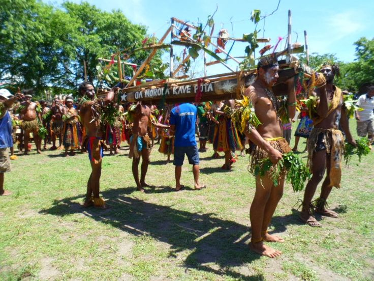 Dancers from Gulf Province
