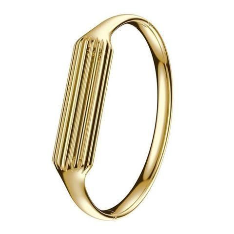 Gold Stainless Steel Bangle For Fitbit Flex 2
