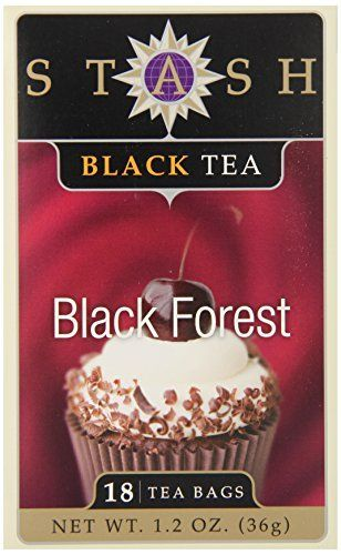 Stash Tea Black Forest Black Tea, 18 Count Tea Bags in Foil (Pack of 6) *** For more information, visit image link.