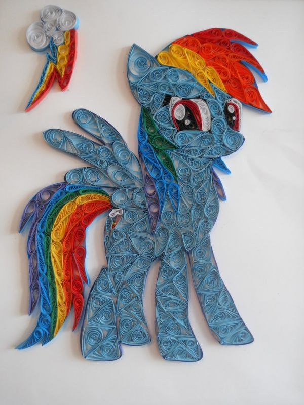 Quilled My Little Pony