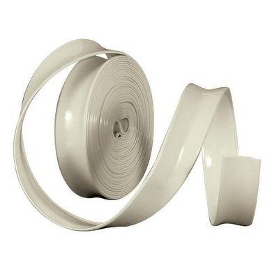 Camco 25222 Vinyl Trim Insert (1 x 100', Off-White (Beige)) - Off-White