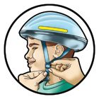 Make sure your helmet fits! Tips for making sure.