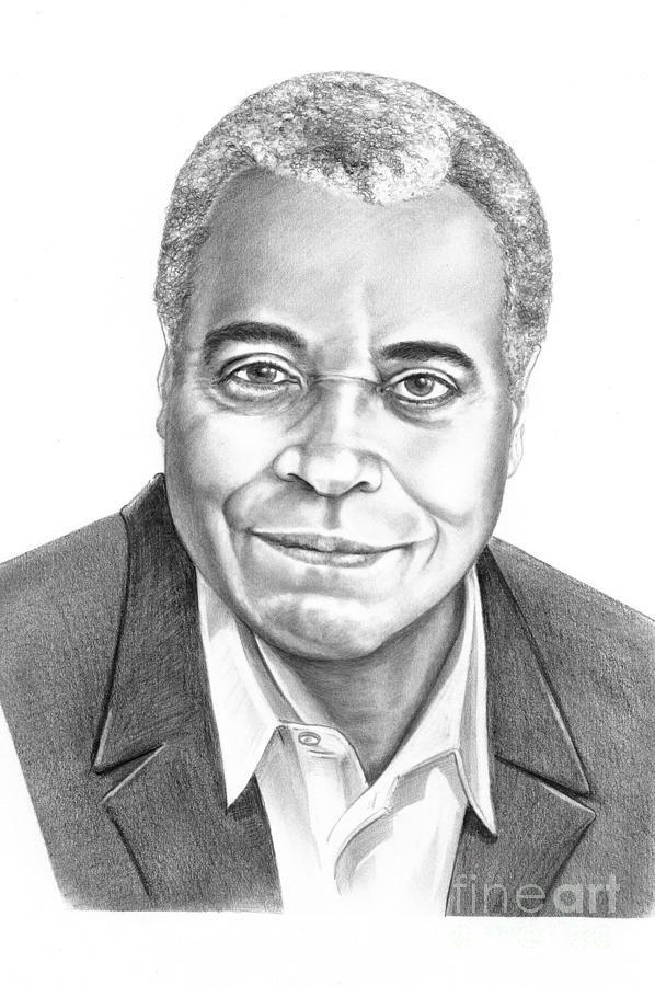 James Earl Jones by Murphy Elliott ~ traditional pencil ...