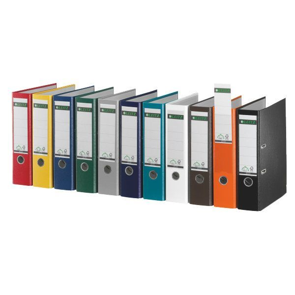Leitz Ordner DIN A4 - 1010 P80- Plastik- 180º-Präzisionsmechanik - Rückenbreite 80mm kaufen bei Hood.de