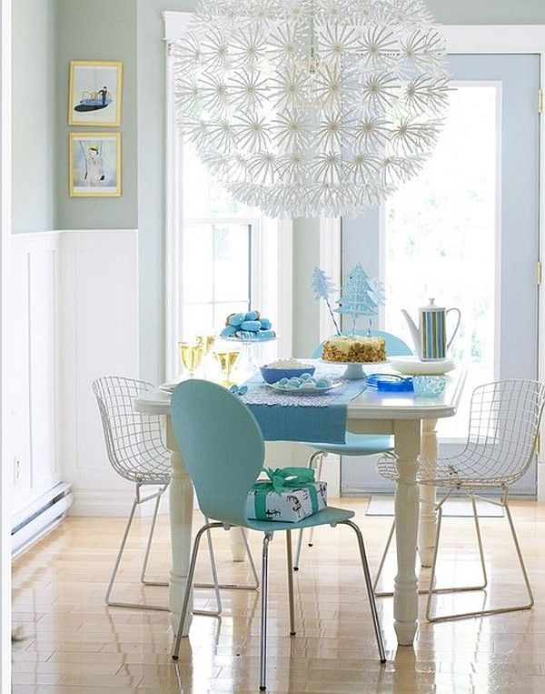 Get Rid Of Your Awful Lighting And Add This Maskros Pendant Lamp From Ikea.  It Provides A Softer Light While Adding A Touch Of Flare To Any Room.