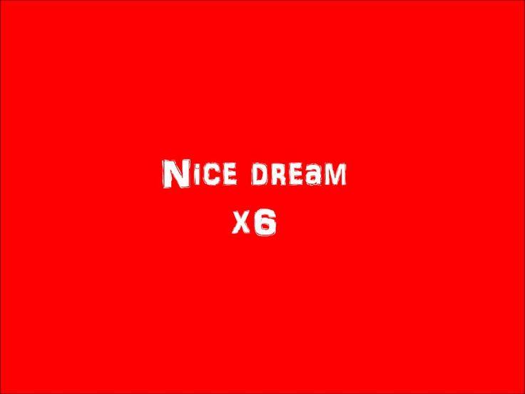 Radiohead-Nice dream lyrics