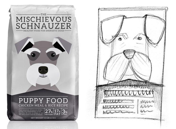 dog food branding - Google Search