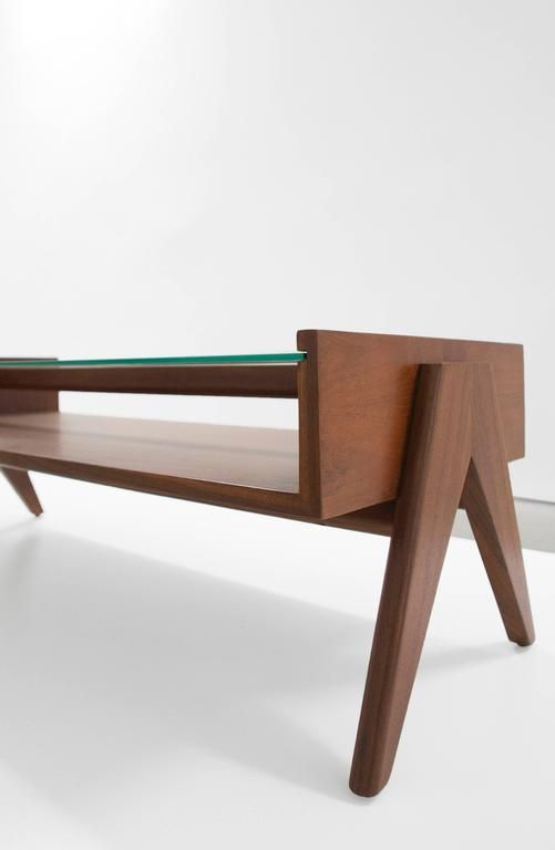 Pierre Jeanneret Coffee Table from Chandigarh at 1stdibs