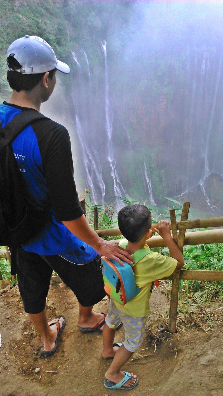 Tumpak Sewu di Lumajang, Jawa Timur