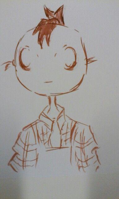 Cro [ acrylic ink ]
