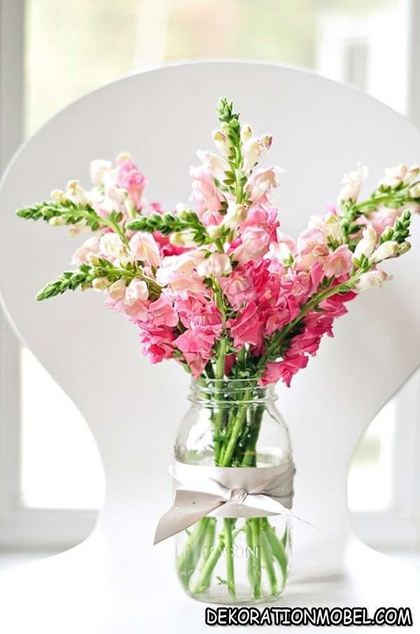 Rosa Kirschzweige Blühend Deko Tisch Frühling dezent ideen
