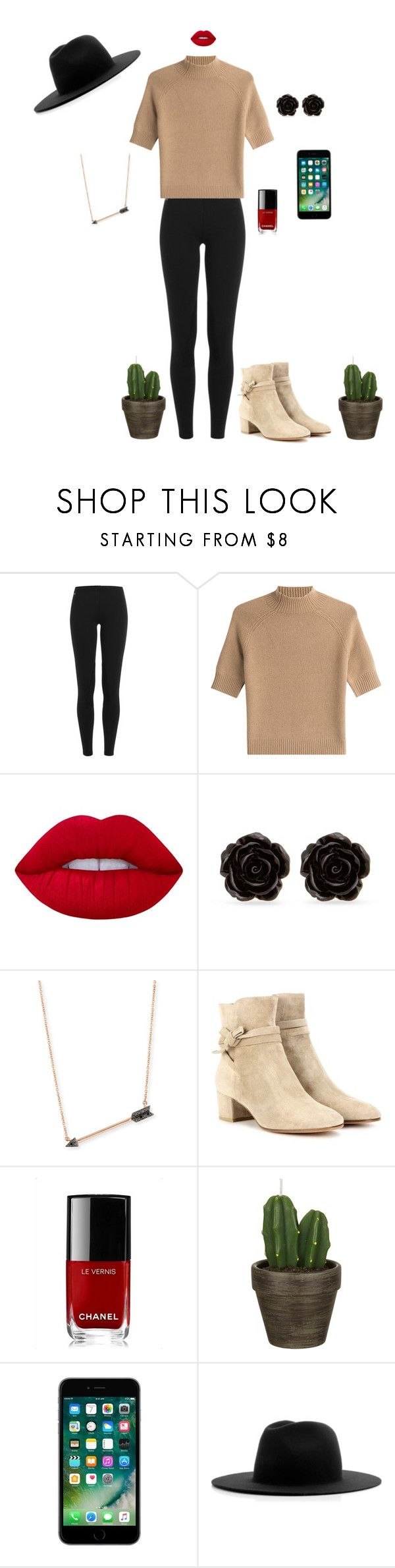 """see me in light"" by mihan22 on Polyvore featuring Ralph Lauren Blue Label, Theory, Lime Crime, Erica Lyons, Sydney Evan, Gianvito Rossi, Chanel, John Lewis and Études"