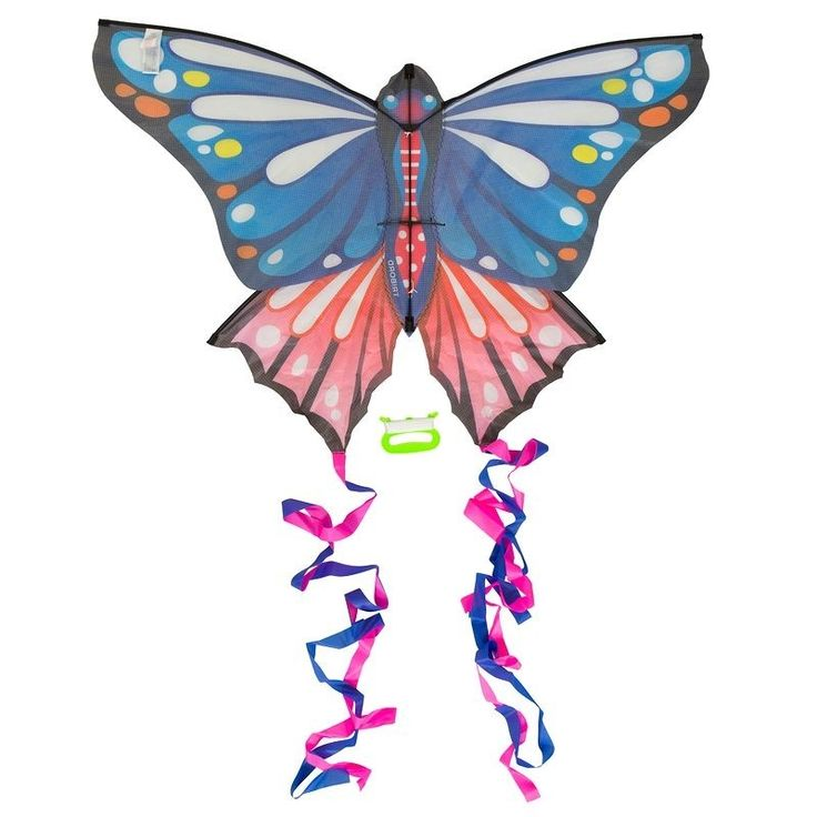 Check out our New Product  Butterfly Single Line Kite  Blue COD •Easy to assemble. Pre assembled central spine. 25 m high.•For wind speeds from 2 to 5 Bf 6 to 40 km per h.•Large surface for easy take off.  ₹1,201