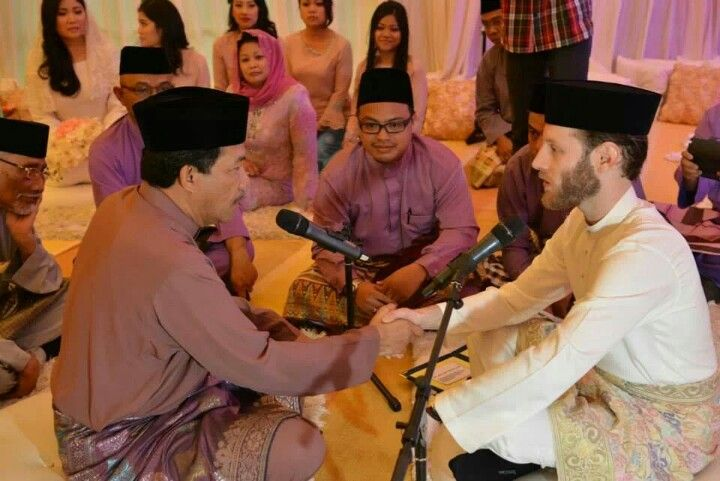 Muslim malay solemnization