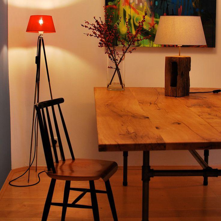 die besten 25 eichenbohlen ideen auf pinterest holzboden k che boden und scheunenumbau. Black Bedroom Furniture Sets. Home Design Ideas